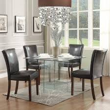 dining table set modern. 70 Most Magic Small Glass Dining Table Set Modern Round Room Black Insight