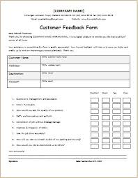 Customer Feedback Form Customer Feedback Form DOWNLOAD at httpwwwbizworksheets 2