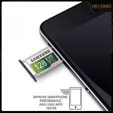 SAMSUNG Thẻ Nhớ Tf + 64 / 128 / 256 / 512gb / 1tb Cho Điện Thoại, Máy Tính  Bảng chính hãng
