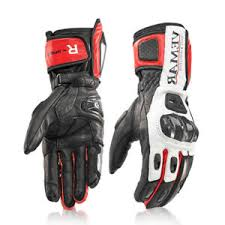 Details About Carbon Fiber Motorcycle Pro Biker Motorbike Racing Warm Screen Touch Long Gloves
