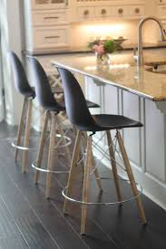 cushions k 19t inspiring incredible restoration hardware counter stool with three black chairs wooden legs white kitchen dark wood floorl