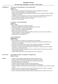Supervisor Resume Examples Cafe Supervisor Resume Samples Velvet Jobs 41