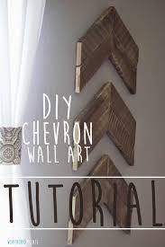 diy chevron wall art tutorial on diy chevron wall