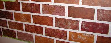 brick painting no doubt give an antique and royal look to your home it is one of the immensely popular artwork that has survived through ages