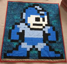 mega man quilt... | To Sew or Not To Sew | Pinterest | Man quilt ... & mega man quilt. Adamdwight.com