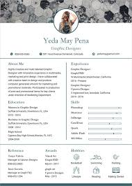 Graphic Design Resume New Graphic Designer Resume Template 28 Free Word PDF Format