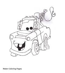 Disney Cars Mater Coloring Pageslll