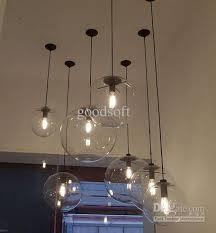 Vintage Chandelier Diy Led Glass Pendant Light Pendant Edison Lamp Fixture Edison  Light Bulb Chandelier Archaize Cafe Restaurant Bar Modern Lighting ...