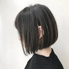 切りっぱなしショートボブの髪型10選前髪あり前髪なし前下がり Belcy