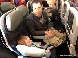 travelling with an infant on a plane
