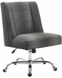 Off white office chair Design Ideas Linon Zander Office Chair Gray Dot Offwhite Real Simple Check Out These Bargains On Linon Zander Office Chair Gray Dot Offwhite
