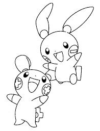 We4you2 Kleurplaten Van Pokemon