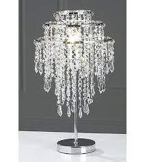 beaded table lamp crystal shades new silver bead droplet shade with crystal bead lamp l90