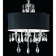 black drum shade chandelier black shade chandelier chrome 3 light black shade crystal chandelier black drum