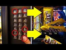 Candy Vending Machine Hack Stunning GET FREE CANDY FROM ANY VENDING MACHINE Life Hacks HD YouTube