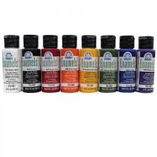 Folk Art Paint Chart Folkart Enamel Paint Bottle Colours Listed