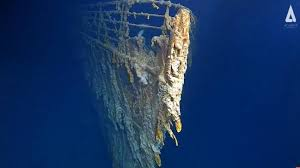 Titanic: New pictures reveal 'shocking' decay