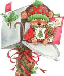 Christmas Mouse Clip Art   Gallery Free Clipart Picture… Christmas ...