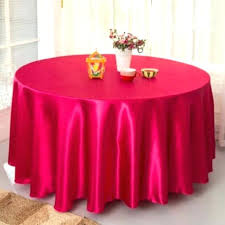 120 inch round plastic tablecloths big size fuchsia satin round table cloth wedding tablecloth party table 120 inch round plastic tablecloths
