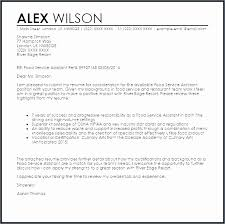cover letter for food service customer service manager cover letter elegant cover letter