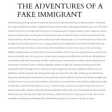 "the wardrobe s best dressed ""immigration essays"" by sybil baker  this selection comes from the essay collection immigration essays available from c r press order your copy here"