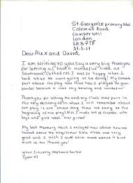 Example Of A Thank You Letter Ks2 Mediafoxstudio Com