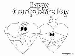 Grandparents Day Coloring Sheet Happy Grandma Day Coloring Pages
