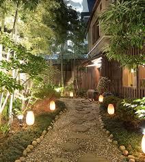 outdoor lighting effects. Lit Pathway Outdoor Lighting Effects