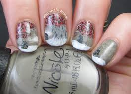 Game of Thrones Weirwood Tree Nail Art! - Adventures In Acetone