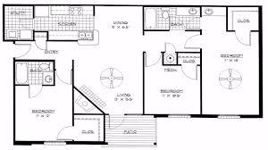 4 bedroom house plans open floor plan