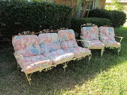 Antique Wrought Iron Patio Furniture Home Interior Design