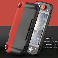 NS Creativity New Switch Lite Console <b>Protective</b> Shell <b>Magnetic</b> ...
