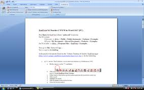 Endnote Cwyw In Word 2010 Pc