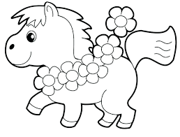 Animal Coloring Pages For Toddlers Stockware