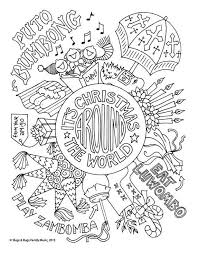 Surrounded by a world of colour it is easy to use daily opportunities to discuss colours. Christmas Around The World Coloring Page Kids Holiday Etsy