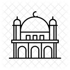 Berdasarkan tradisi ini, istilah masjid yang dalam bahasa arab secara harfiah berarti tempat sujud, juga bisa. Free Al Aqsa Mosque Icon Of Line Style Available In Svg Png Eps Ai Icon Fonts