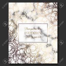 Elegant Invitation Cards Luxury And Elegant Wedding Invitation Cards With Marble Texture