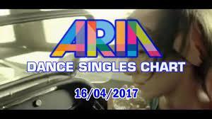 Top Ten Aria Charts Australian Top 20 Dance Songs April 16 2017 Aria Dance Singles Chart