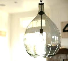 seeded glass shade replacement seeded glass pendant shade seeded glass pendant bell jar light shade replacement