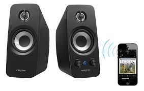creative computer speakers. creative t15 wireless 2.0 channel speaker system(51mf1670aa004) - 2 computer speakers i