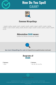 The nato phonetic alphabet, more accurately known as the international radiotelephony spelling alphabet and also called the icao phonetic or icao spelling alphabet, as well as the itu phonetic alphabet, is the most widely used spelling alphabet. Correct Spelling For Caah Infographic Spellchecker Net