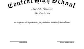 Preschool Graduation Certificate It Certificate Templates Free