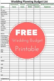 wedding planning on a budget free wedding planning budget checklist printable frugal budgeting