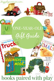 1 Year Old Gifts: Books Paired with Toys - Happily Ever Mom