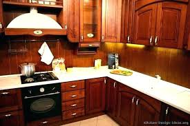 cherry wood kitchen cabinet doors cabinets curio with glass