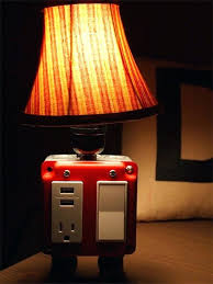 lamps with usb ports and s caper tray table floor lamp with usb port and