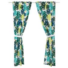 ikea urskog curtains with tie backs 1 pair easy to keep clean machine