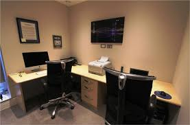 Home Office Designs For Two Fascinating Two Person Computer Desk Home Design