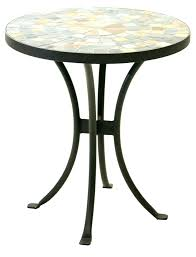side tables patio side table metal coffee tables small black outdoor cast medium size of