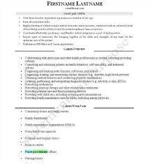 Nurse Anesthetist Resume Sample Resume For Nurse Anesthetist Healthcare News Information 26